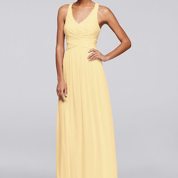 Davids Bridal Dresses Canary Yellow Davids Bridal Long Bridesmaid